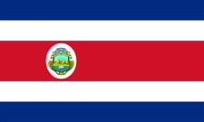 Costa Rica Country Sign Flag 3x5ft advertising banner sign