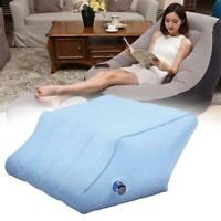 Genou gonflable portatif d'oreiller de soutien de Raiser de repos de pied de