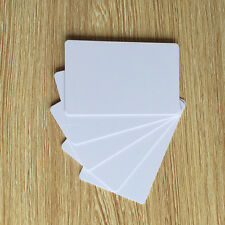 Blank white PVC inkjet printable ID cards for Epson & Canon double-sided -100pcs
