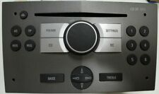 Opel CD30 MP3 Autoradio grau mit Bügelfalte