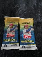 2020 Topps Baseball Update Series Fat Pack HOT LOT OF TWO platinum bowman chrome