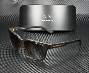 ARMANI EXCHANGE AX4026S 8029T5 Havana Polarized Brown 56 mm Unisex Sunglasses
