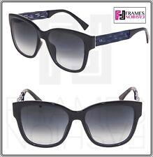 840e6c1f4e01 Christian Dior Ribbon Square Sunglasses Ugo9o 55 Black Gradient Lenses