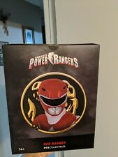 Saban's power rangers. PCS collectibles. red white and green rangers. Set of 3