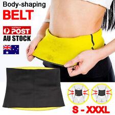 Hot Shapers Belt Slimming Body Shaper Belly Waist Tummy Trimmer Fat Burn Sweat