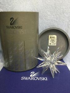Swarovski Crystal 143 Medium Star Candleholder 7600143001 119430. Retired 2004.