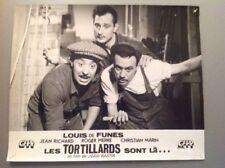 PHOTO D'EXPLOITATION (LOBBY CARD) : LES TORTILLARDS SONT LÀ (De Funes J.Rchard)