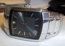 Nice Men's ZRT15551S11 Analog Display Quartz Silver Band Watch, New Battery