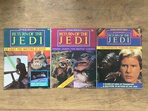 Official Star Wars Poster Magazines Return of the Jedi 1-3  Paradise Press 1983