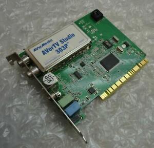 Genuine AverMedia AVerTV Studio 303P S-Video TV FM Tuner Card