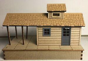 Motrak Models Adamsville Depot Structure Kit, O Scale