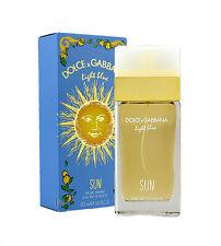 Dolce & Gabbana Light Blue Sun 50ml Eau de Toilette Neu & Originalverpackt