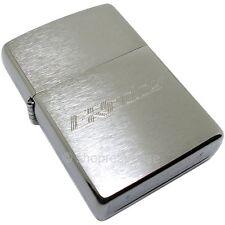 GReddy Etched Logo Zippo Cigarette Lighter Brushed Metal TRUST 18001105 Genuine