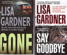 Complete Set Lot of 7 FBI Profiler HARDCOVERS Lisa Gardner Quincy Rainie F.B.I.