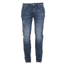 M.O.D Herren Jeans Ricardo Slim Messina Blue Destroyed