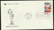 Roberto Clemente Readers Digest Cachet FDC Unadd #2097  LOT 1189