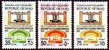 Irak Iraq 1976 ** Mi.854/56 Kommunikation Communication Telefon Phone