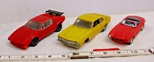 REVELL CARS BUILT UP MODELS 1/32 SCALE FORD MAVERICK, LANCIA & MERCEDES LOT