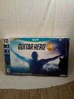 Guitar Hero Live (Wii U, ) NIB 2015