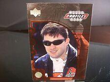 Insert Tony Stewart #20 THE HOME DEPOT Upper Deck 1999 Card #P11 PROFILES