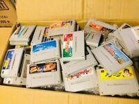 WHOLESALE RANDOM Super Famicom Game SNES lot 20 ROMs set JAPAN SFC ALL TESTED