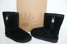 UGG Australia 1002200 T BK 11 Toddler Classic TAS Sheepskin Boots Shoes Black 11
