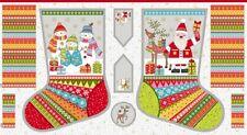 Makower Festive 2107 1 Stocking 24