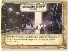 Star Wars Destiny - #160 Rüstungsfabrik Alpha - Imperium im Krieg