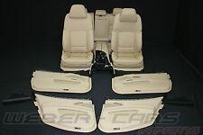 BMW 5er F11 KOMOFRT Leder Sitze Lederausstattung BEIGE leather comfort seats