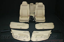 BMW 5er F11 KOMOFRT Leder Sitze Lederausstattung BEIGE leather interior seats