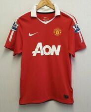 MANCHESTER UNITED 2010 - 2011 HOME SHIRT SIZE S SMALL PREMIER LEAGUE FOOTBALL
