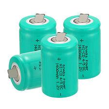 4PZ anmas POWER 4/5 Sub C SC 1.2V 1400MAH NiCd/NiMH Ricaricabile Batterie, Verde