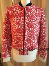 Leon and Harper Vince Jacket in Red RRP£385 Brand New With Tags