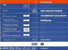 VW Golf Cabrio - Reparaturleitfaden Video - E-Verdeck `90