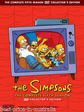 The SIMPSONS: The COMPLETE Season 5 DVD TV SERIES BRAND NEW 4-DISCS BOX SET R4