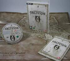 The Elder Scrolls IV 4 Oblivion mit Handbuch & Landkarte Karte Deutsch in DVDBOX