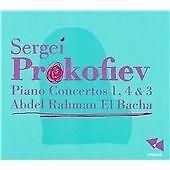 Prokofiev: Piano Concertos 1, 4 & 3, Abdel Rahman, Audio CD, New, FREE & FAST De