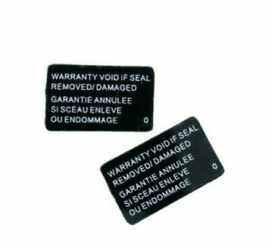 Sony Playstation 4 PS4 PRO Replacement Warranty Seal Sticker Set