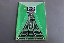 X376 PECO Train catalogueO OO Ho N 1988 64 p  Angl model railway products