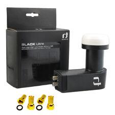 Inverto Black Ultra Twin LNB High Gain 72dB Full HDTV 3D 4K 2 Teilnehmer Digital