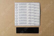 8x Yamaha Racing Premium Cast Wheel Rim Decals Stickers YZF R1 R3 R6 FJR MT XT