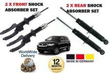 FOR VOLKSWAGEN VW TOUAREG 2002-2010 2X FRONT + 2X REAR SHOCK SHOCKER ABSORBER