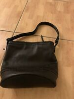 Cole Haan Women Black Leather Shoulder Bag Fits All Women