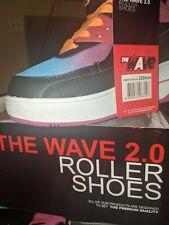 Kids Roller Shoes Light Up Single Wheel Skate Shoes The Wave 2.0 Size 3