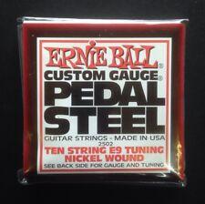 Ernie Ball Pedal Steel Guitar Strings E9 Tuning