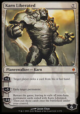 MTG KARN LIBERATED ASIAN EXC - KARN LIBERATO - NPH - MAGIC