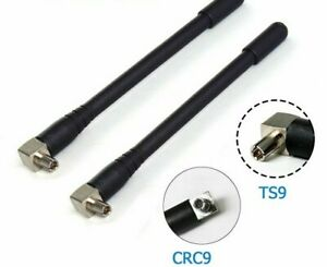 Wireless Poweful Antenna 3G/4G For USB Modem TS9 CRC9 Male Pin Connectors 2-3DBi