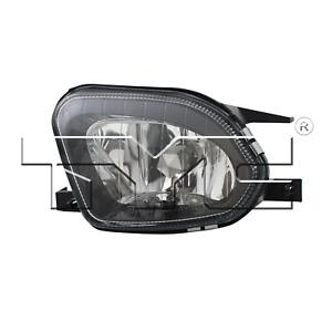 Fog Light Assembly Left Fits Mercedes-Benz E280 E300 E320 07 - 09 TYC 19-0450-00