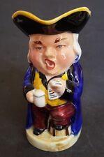 "Vintage Burlington Ware THE SINGER Toby Jug - Blue Coat - 6"" tall"