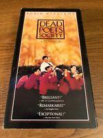Dead Poets Society VHS VCR Video Tape Robert Sean Leonard, Robin Williams Used